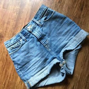 Urban Outfitters Worn Once High Rise Denim Shorts